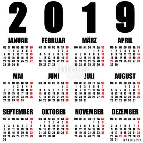 Kalender 2018 Und 2019 Quot Kalender 2019 Quot Stockfotos Und Lizenzfreie Bilder