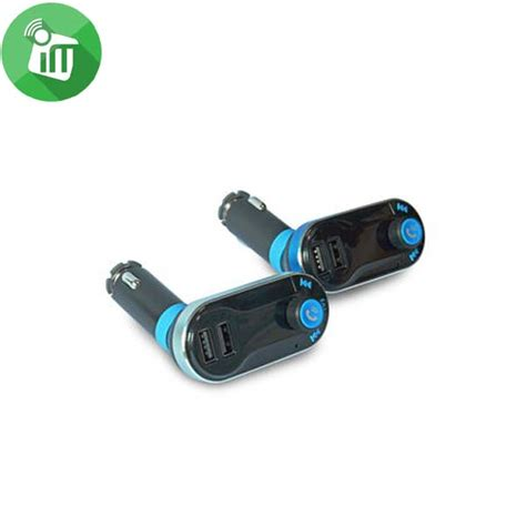 Bluetooth Car Charger Fm Transmitter Multifunction cigii multifunction bluetooth fm transmitter 2 1a dual usb car charger imediastores