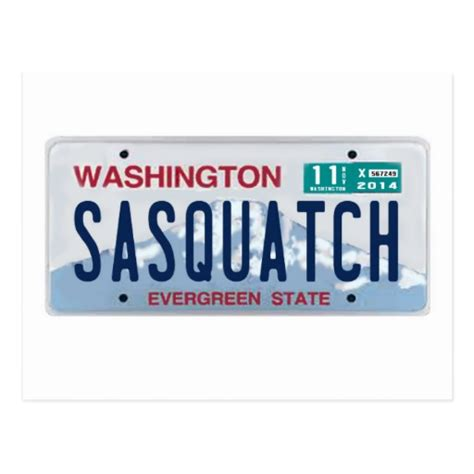 Vanity Plates Washington by Free Front License Plate Washington Backupwomen