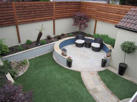 maintenance free backyard low maintenance garden design dublin landscaping ie