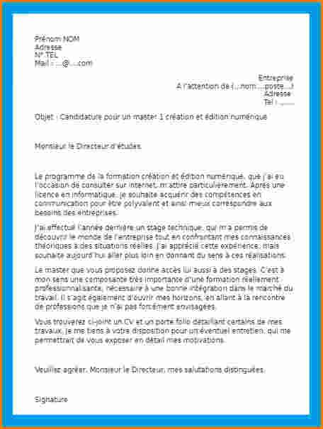 Lettre De Motivation Stage Volontaire 7 Mod 232 Le De Lettre De Motivation Pour Un Stage Exemple Lettres