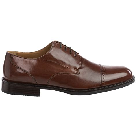 oxford shoe for johnston murphy burks cap toe oxford shoes for