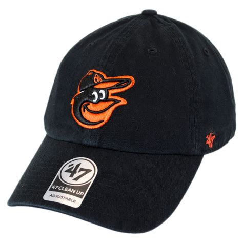 47 brand baltimore orioles mlb clean up strapback baseball