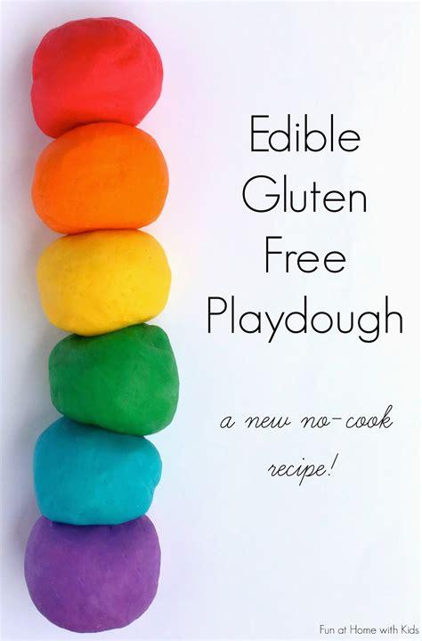 edible gluten free no cook playdough