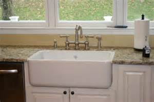 Bridge Kitchen Faucet golden boys and me diy shaw s farmhouse sink installation