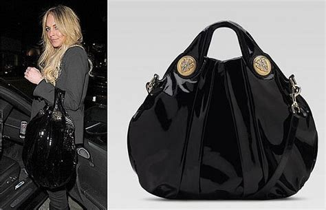 Lindsay Lohans Gucci Bag by The Bag To Lindsay Lohan S Gucci Hysteria Top Handle