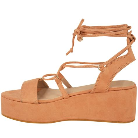 summer wedge sandals new womens low wedge platform sandals strappy