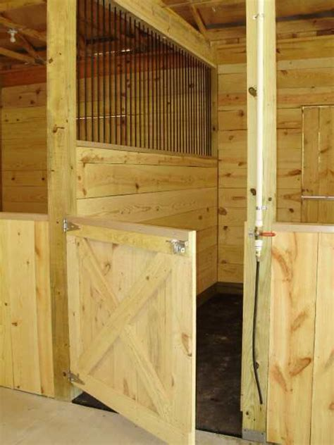 Nice Stalls Horses Just A Little Obsessed Pinterest Barn Stall Doors