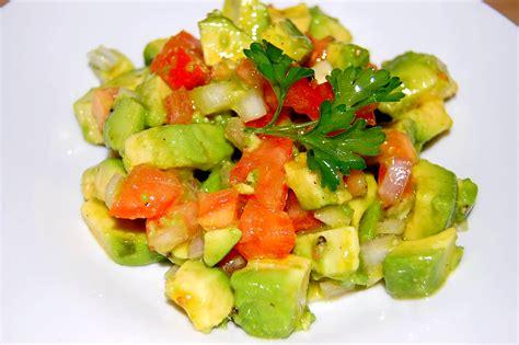 bienfaits froide recette salade d avocats facile tchop afrik a cuisine