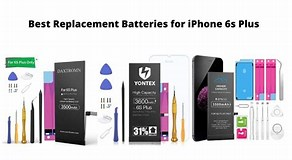 Image result for Best Replacement Battery for iPhone 6s. Size: 292 x 160. Source: www.all-good-batteries.com