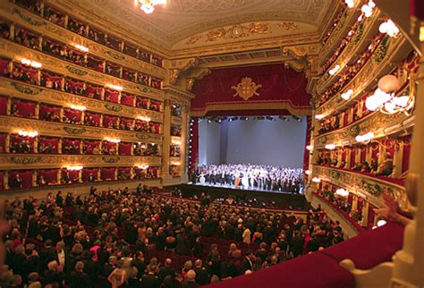 La Scala Interior by La Scala Theater Visit And Its Lombardy Region
