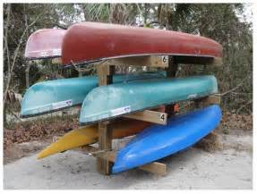 becy plans for wood kayak rack