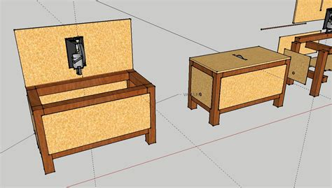 how to build a saw bench timbo s creations diy saw table