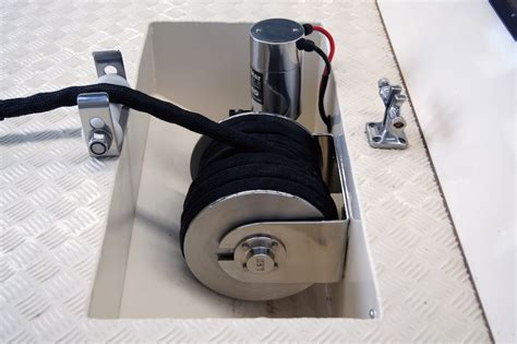 boat drum winch installation boatcatch launch and retrieval system southside marine