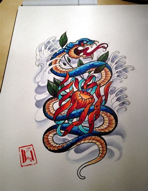 chinese snake tattoo designs 70 best japanese snake images on