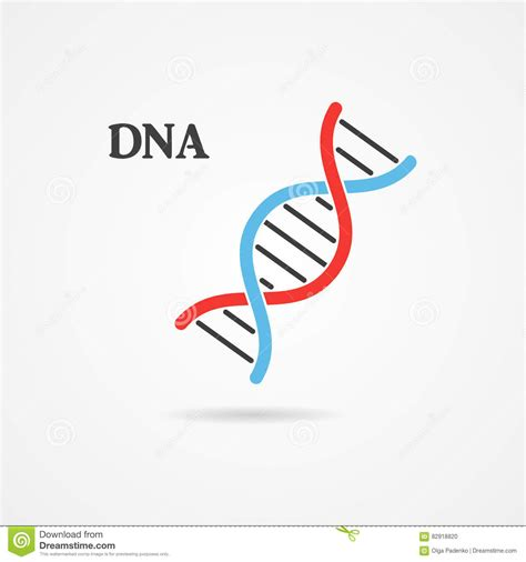logo graphics dna logo design abstract logo dna symbol stock illustration image 82918820
