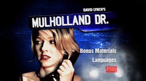 mulholland drive 2001 hot drama movie suphshare mulholland drive 2001 dvd movie menus