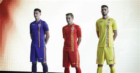 romania  home  kits  crest revealed footy headlines