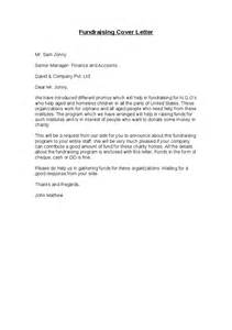 Cover Letter For Charity fundraising cover letter hashdoc