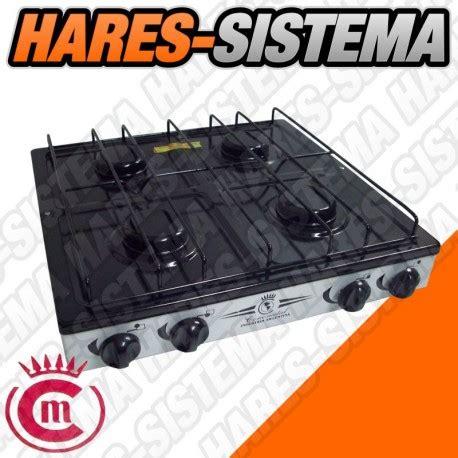 anafe cocina anafe de cocina 4 hornallas conometal hares sistema