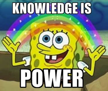 Meme Knowledge - is knowledge power familiarity and liking in