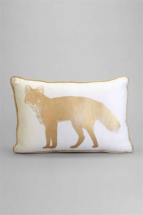 Outfitters Pillows by Plum Bow Golden Fox Pillow Outfitters And