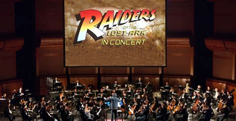 Njpac Box Office by Raiders Of The Lost Ark With Njso Njpac