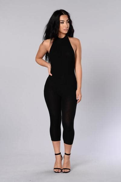 Fashion Nova Gift Card - ricki jumpsuit black fashion nova