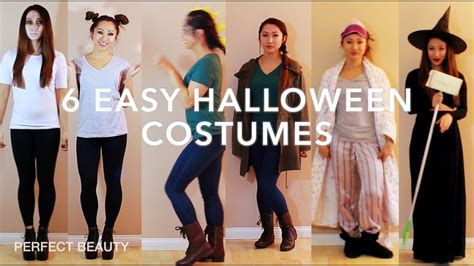 minute diy halloween costume ideas youtube