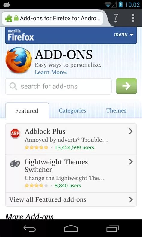 apk downloader firefox firefox browser 23 0 apk for android free wallpaper dawallpaperz