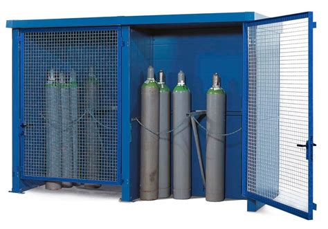 hour fire rated wall gas cylinder storage cabinet