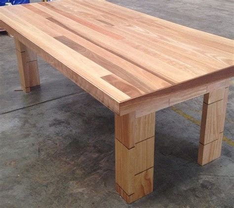 tongue and groove table spotted gum hardwood dining table seats 8 made using