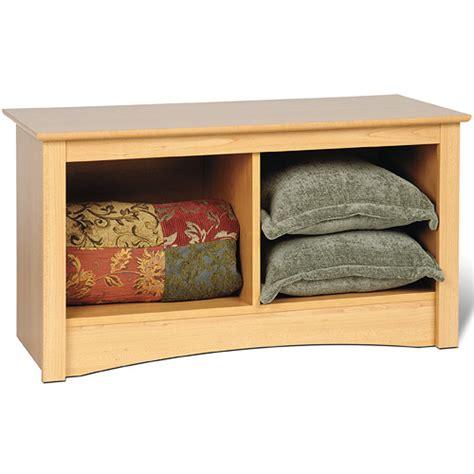 maple storage bench sonoma twin cubby storage bench maple in storage benches