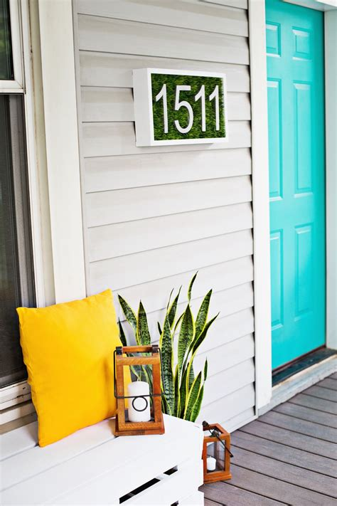 house numbers creative ways to craft and display your diy house number signs