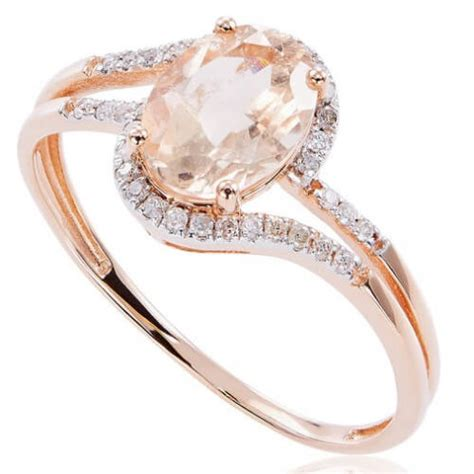 morganite engagement rings gold archives