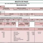 boletas de pago planilla de remuneraciones excel negocios control de una base de datos en excel registrar editar