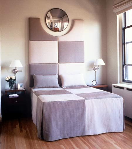 small bedroom makeovers small bedroom makeover with round mirror and wall l