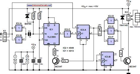 rc remote switch circuit diagram