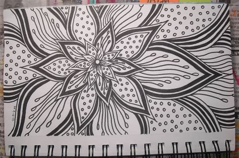 awesome pen doodles flowers on doodle flowers flower doodles and