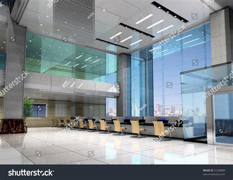 Modern Business Interiors by Modern Design Interior Business 3d Stock Photo