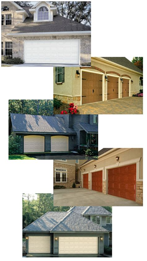 our products garage doors installation service