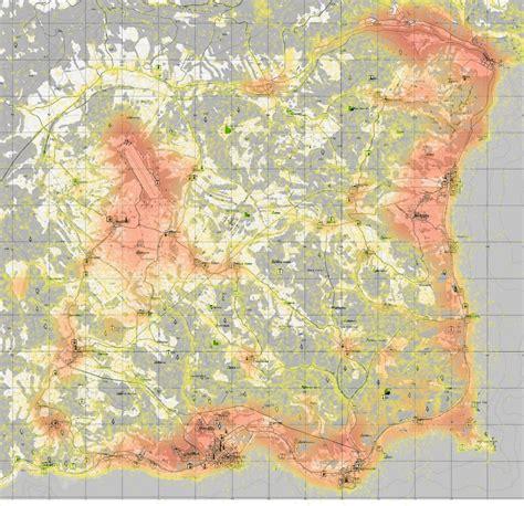 dayz sa map safety map of chernarus and chernarus using standalone data dayz tv