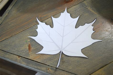 Paper Leaf Craft - diy pumpkin craft simple project for fall our house now