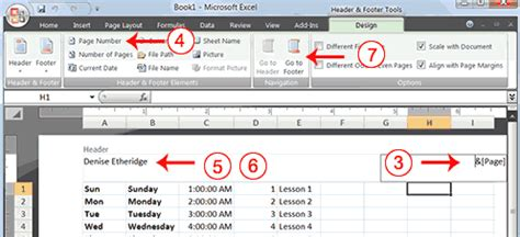 excel page layout view create header m a audits academi lesson 3 creating excel functions