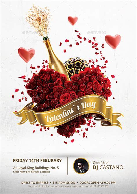 valentines day flyer valentines day flyer template by bornx graphicriver