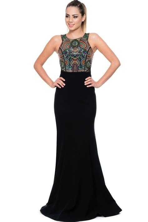 abiye elbise modelleri gece davet mezuniyet dn elbiseleri uzun siyah renkli balık abiye elbise gg6874 abiyefon com