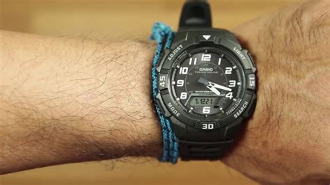 review casio watches casio aq s800w 1b watches