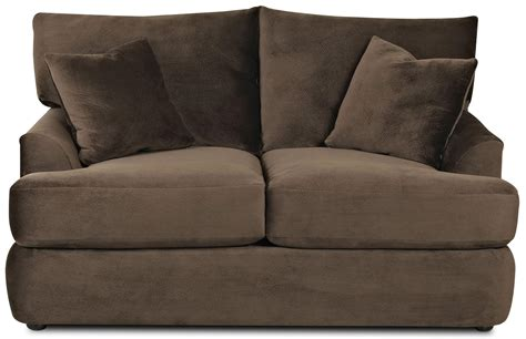 klaussner findley sectional klaussner findley k56830 ls contemporary loveseat with