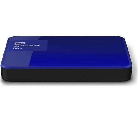 Wd 2tb Blue wd my passport ultra exclusive edition portable drive 2tb blue deals pc world