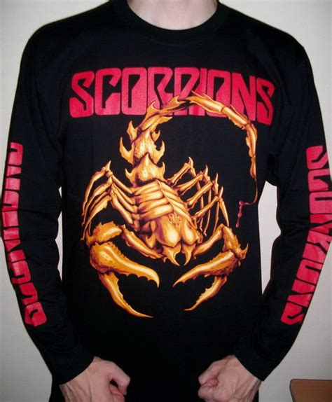 Blouse Rajut Scorpion Size L scorpions rock band sleeve t shirt size 3xl xxxl